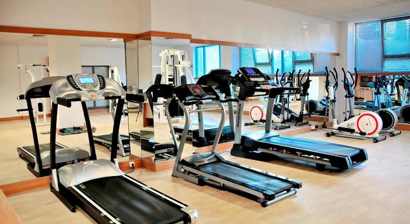 Sala de Fitness, Hotel Clermont