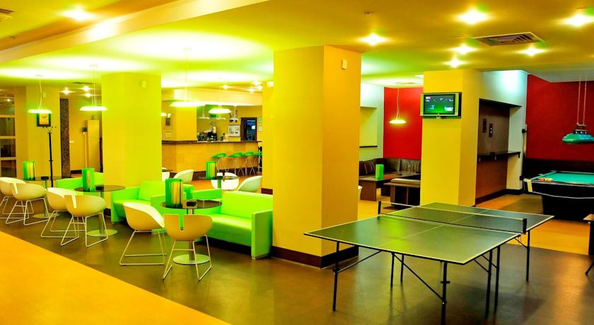 Sala de Jocuri, Hotel Clermont