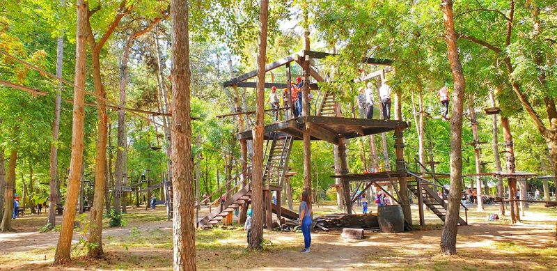 Parc Aventura Comana
