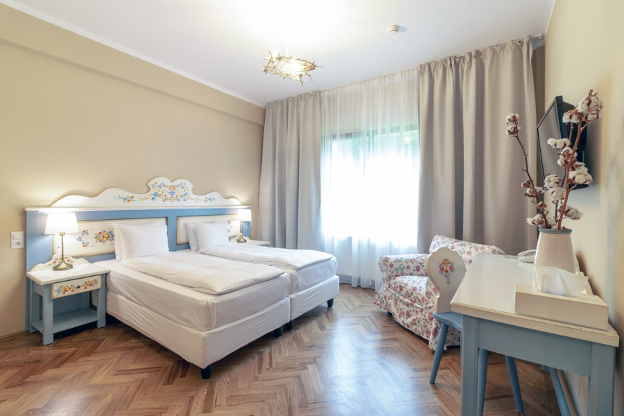 Camere in cadrul Wolkendorf Bio Hotel&SPA