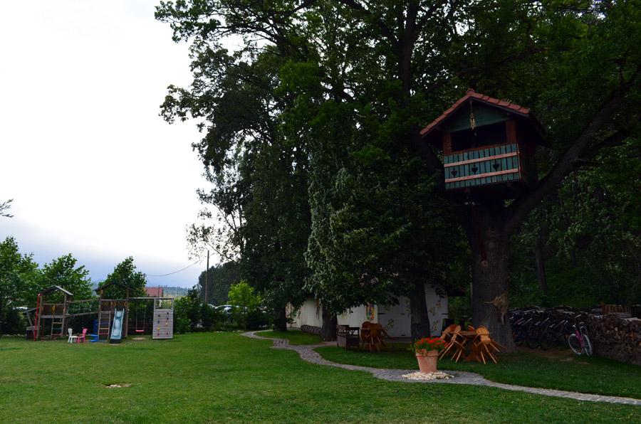 Spatiu joaca la Wolkendorf Bio Hotel&SPA